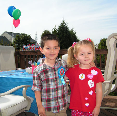 Mario's 4th birthday party (2)