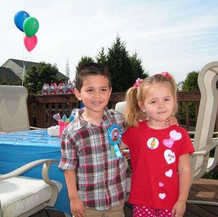 Mario's 4th birthday party (2)
