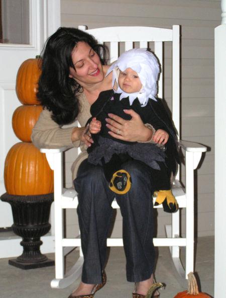 Sam and mama