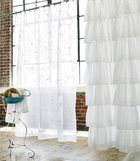 White-Devils-Shower-Curtain