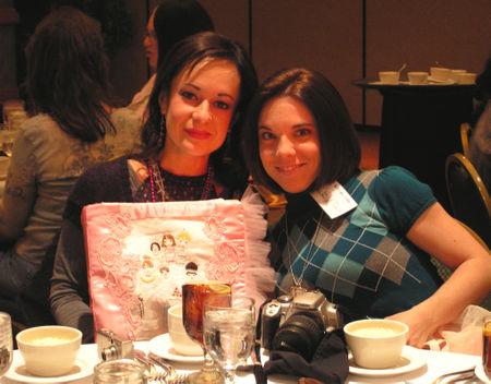 Rosanna and cheryl