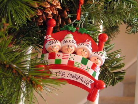 Family ornament 2007