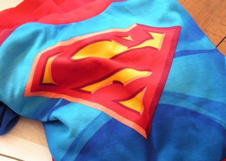Superman jammies