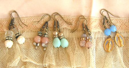 Earring line up cropped