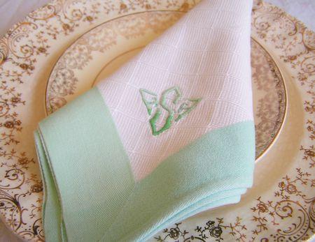 S napkin