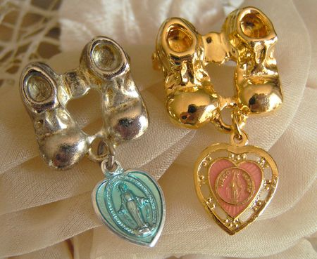 Baptism holy medals