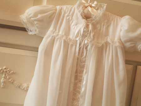 Bap gown with cover