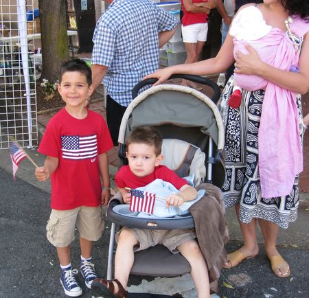 Kids at parade