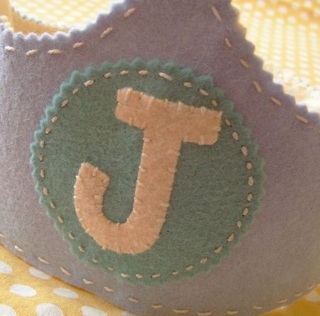 Baby j crown close up