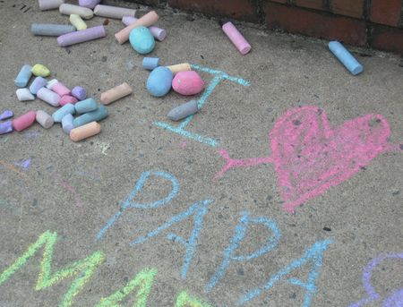 Chalk message