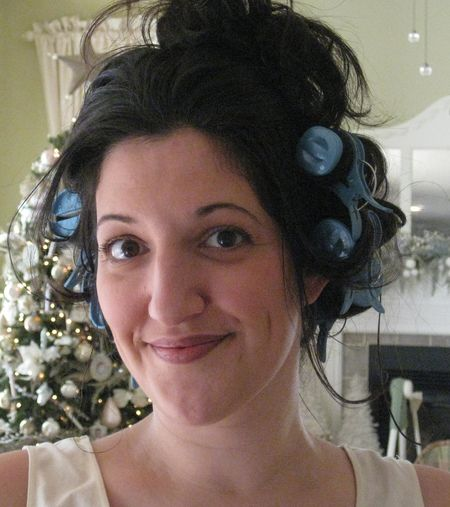 Messy hair 1