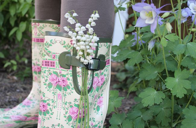 Lily of the valley boots