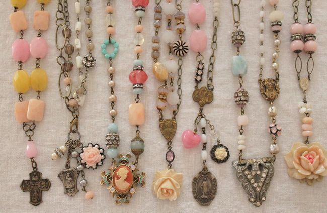 Necklace grouping 2012