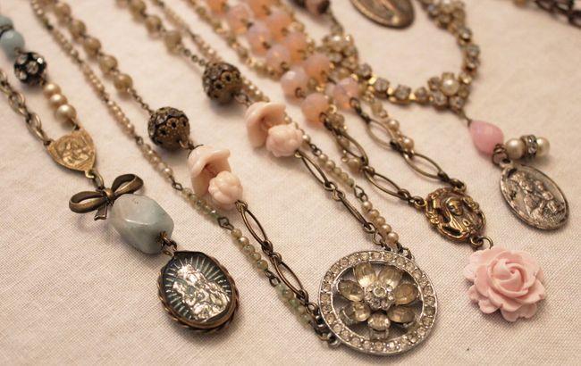 Necklaces october '12