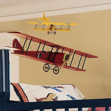 Vintage_red_biplane