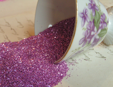 Lilac_blossom_german_glass_glitter