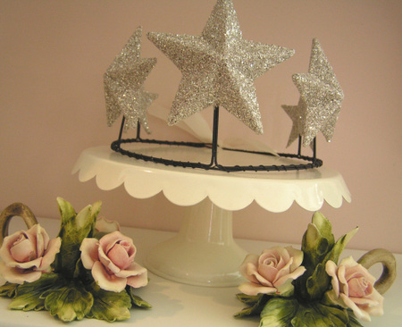 Glittered_star_crown